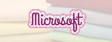 Tecidos Microsoft